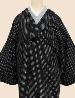 着物コート黒