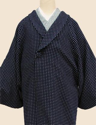 着物コート紺