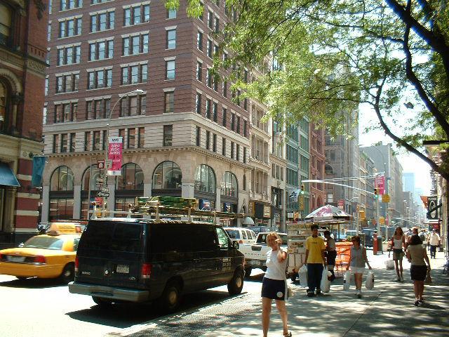 New York ニューヨーク 街並み