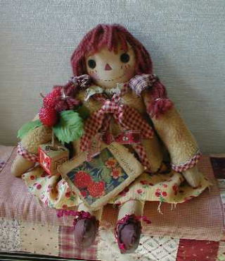 R's Country Crafts リース カントリードール