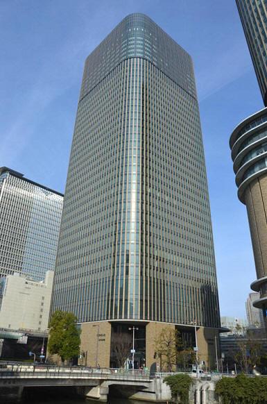 中之島フェスティバルタワー・ウエスト 大阪市・超高層オフィスビル