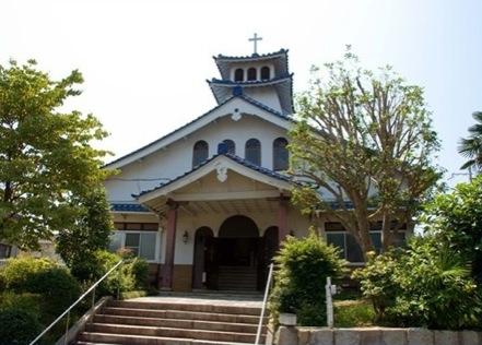 湖畔の聖母 カトリック大津教会