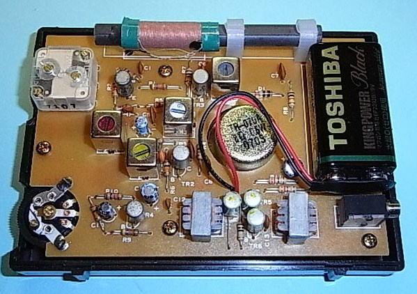 ゲルマニウムトランジスタラジオの製作