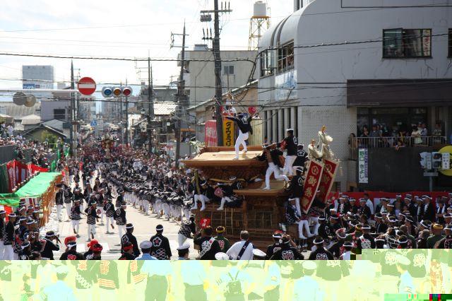 すべての講義 お祭り 有名 : 岸和田だんじり祭りの写真 ...
